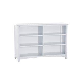 NE Kids School House White Horizontal Bookcase