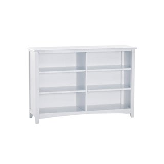 NE Kids School House White Horizontal Bookcase