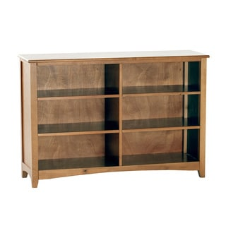 NE Kids School House Horizontal Pecan Bookcase