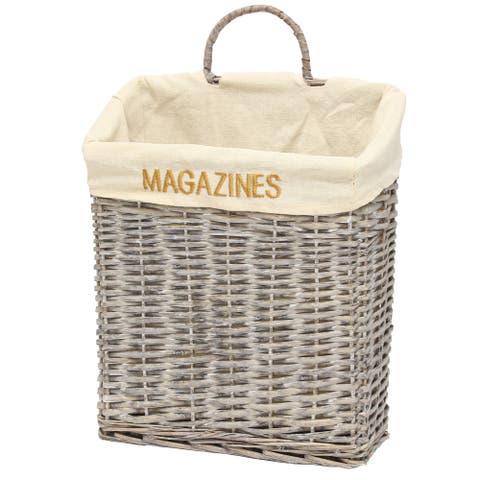 Quickway Vintage Magazine Basket