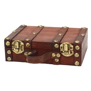 Antique Style Mini Suitcase