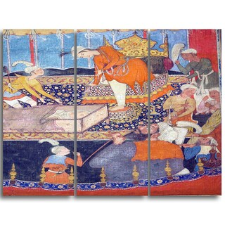 Design Art 'Illustration from the Qissa - i Amir Hamza' Religious Canvas Art Prints