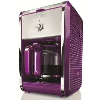 Bella Dots Purple 12-cup Coffee Maker
