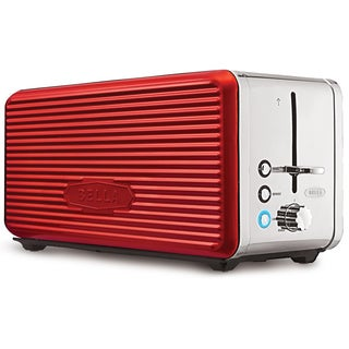 Bella Linea Red 4-Slice Toaster