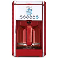 Bella Linea Red 12-Cup Coffee Maker