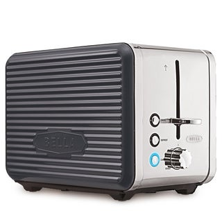 Bella Linea Grey 2-Slice Toaster