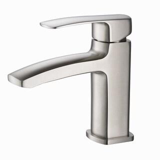 Fresca Fiora Brushed Nickel Single-hole Mount Vanity Faucet