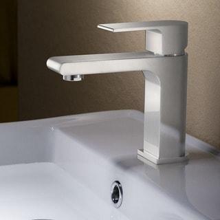 Fresca Allaro Brushed Nickel Single-hole Mount Vanity Faucet