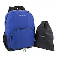 Eastsport Classic Backpack with Bonus Drawstring Bag