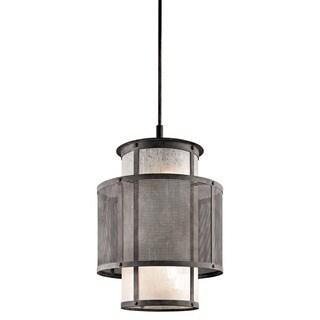 Kichler Lighting Argesto Collection 6-light Weathered Zinc Pendant