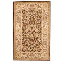 Handmade Herat Oriental Indo Mahal Wool Rug  - 3'3 x 5'3 (India)