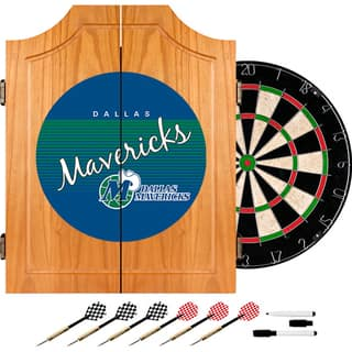 Dallas Mavericks Hardwood Classics NBA Wood Dart Cabinet|https://ak1.ostkcdn.com/images/products/10663514/P17729063.jpg?impolicy=medium