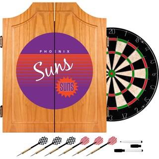 Phoenix Suns Hardwood Classics NBA Wood Dart Cabinet