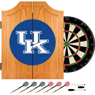 University of Kentucky Wood Dart Cabinet Set - Wordmark