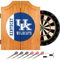 University of Kentucky Wood Dart Cabinet Set - Text