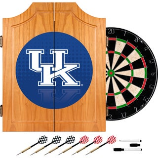 University of Kentucky Wood Dart Cabinet Set - Reflection