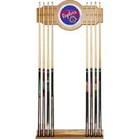 Toronto Raptors Hardwood Classics NBA Cue Rack with Mirror
