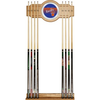 New York Knicks Hardwood Classics NBA Cue Rack with Mirror