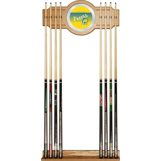 Indiana Pacers Hardwood Classics NBA Cue Rack with Mirror