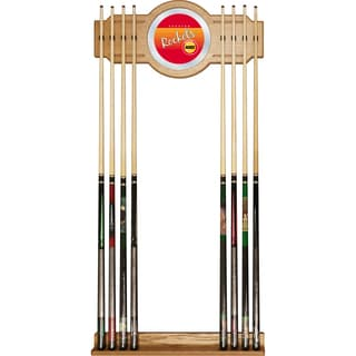 Houston Rockets Hardwood Classics NBA Cue Rack with Mirror