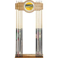 Golden State Warriors Hardwood Classics NBA Cue Rack with Mirror