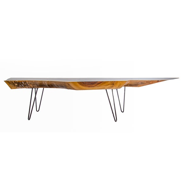 One Of A Kind Glossy Wooden Coffee Table Free Shipping Today