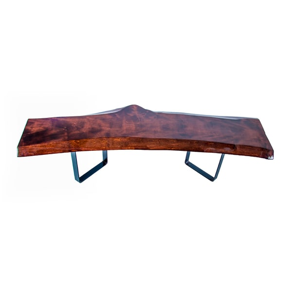 Live Edge Wood Coffee Table Free Shipping Today Overstock 17729138