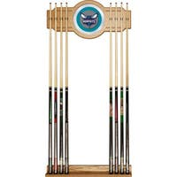 Charlotte Hornets NBA Billiard Cue Rack with Mirror