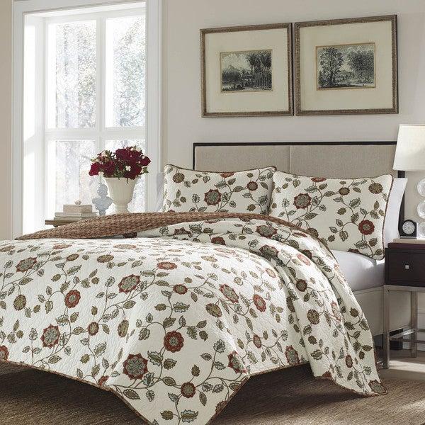 Stone Cottage Lauriston Cotton 3-piece Quilt Set