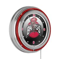 Ohio State Rushing Brutus Neon Clock