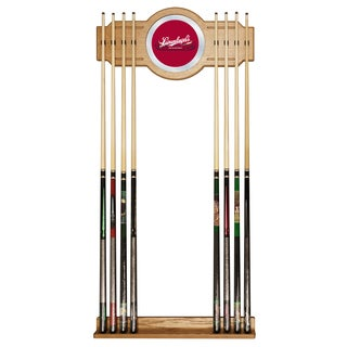 Leinenkugel's Billiard Cue Rack with Mirror