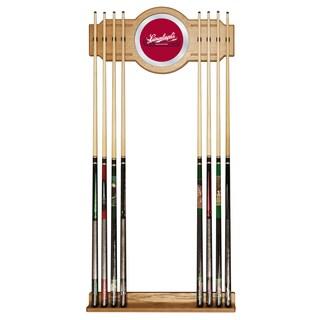 Leinenkugel's Billiard Cue Rack with Mirror