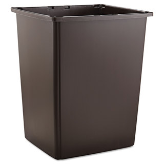 Rubbermaid Commercial Brown 56gal Glutton Container