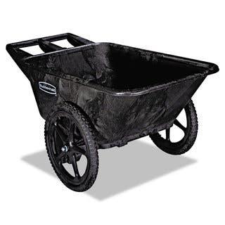 Rubbermaid Commercial Black 300-lb Cap Big Wheel Agriculture Cart|https://ak1.ostkcdn.com/images/products/10663874/P17729359.jpg?impolicy=medium