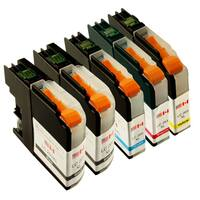 Sophia Global Compatible Ink Cartridge Replacement for LC203XL (2 Black, 1 Cyan, 1 Magenta, 1 Yellow)