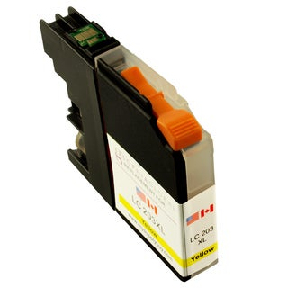 Sophia Global Compatible Yellow Ink Cartridge Replacement for LC203XL