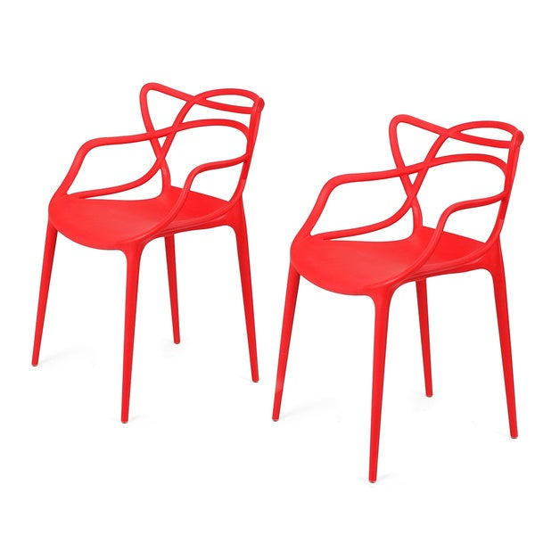 Adeco Modern Contemporary Dining Room Chairs (Set of two) - Free ...