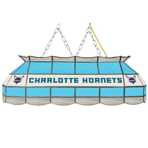 Charlotte Hornets NBA 40 inch Tiffany Style Lamp