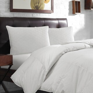 Eddie Bauer White Quilted Feather Pillow