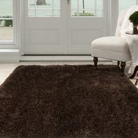 Windsor Home Shag Area Rug - Chocolate - 8' x 10'