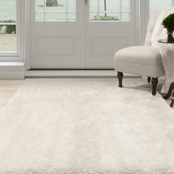 Windsor Home Shag Area Rug - Beige - 8'x10'