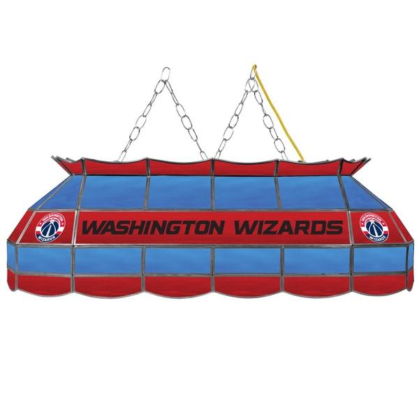 Washington Wizards NBA 40 inch Tiffany Style Lamp