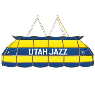 Utah Jazz NBA 40 inch Tiffany Style Lamp