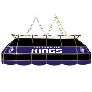 Sacramento Kings NBA 40 inch Tiffany Style Lamp