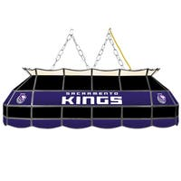 Sacramento Kings NBA 40 inch Tiffany Style Lamp
