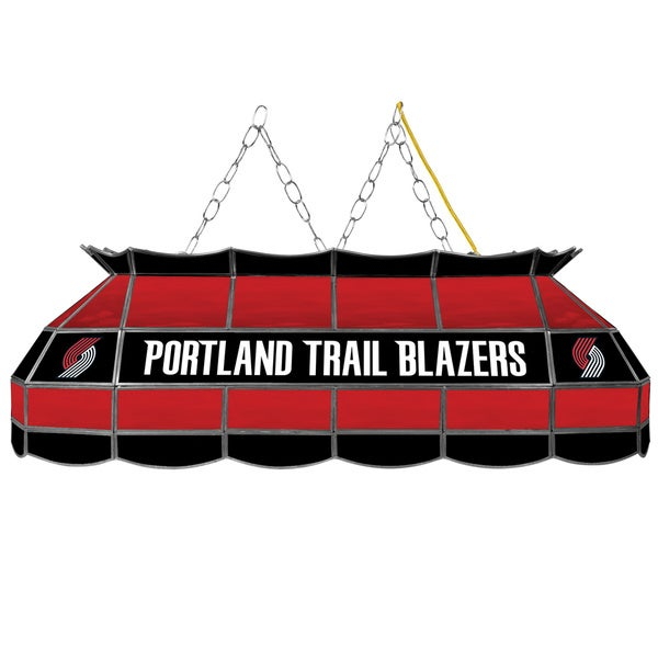 Portland Trail Blazers NBA 40 inch Tiffany Style Lamp