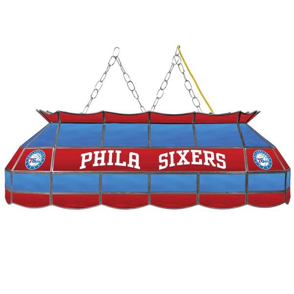 Philadelphia 76ers NBA 40 inch Tiffany Style Lamp