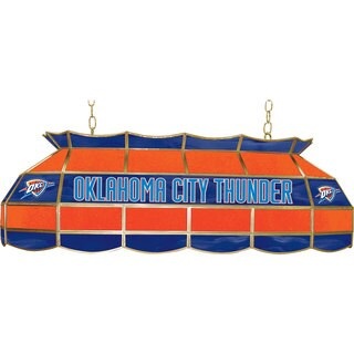 Oklahoma City Thunder NBA 40 inch Tiffany Style Lamp