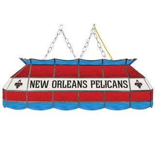 New Orleans Pelicans NBA 40 inch Tiffany Style Lamp