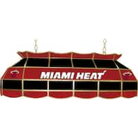 Miami Heat NBA 40 inch Tiffany Style Lamp